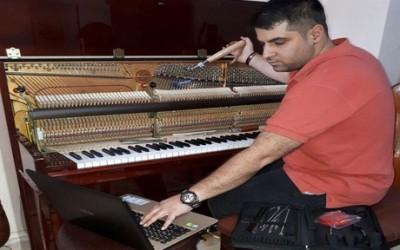 رگلاژ پیانو